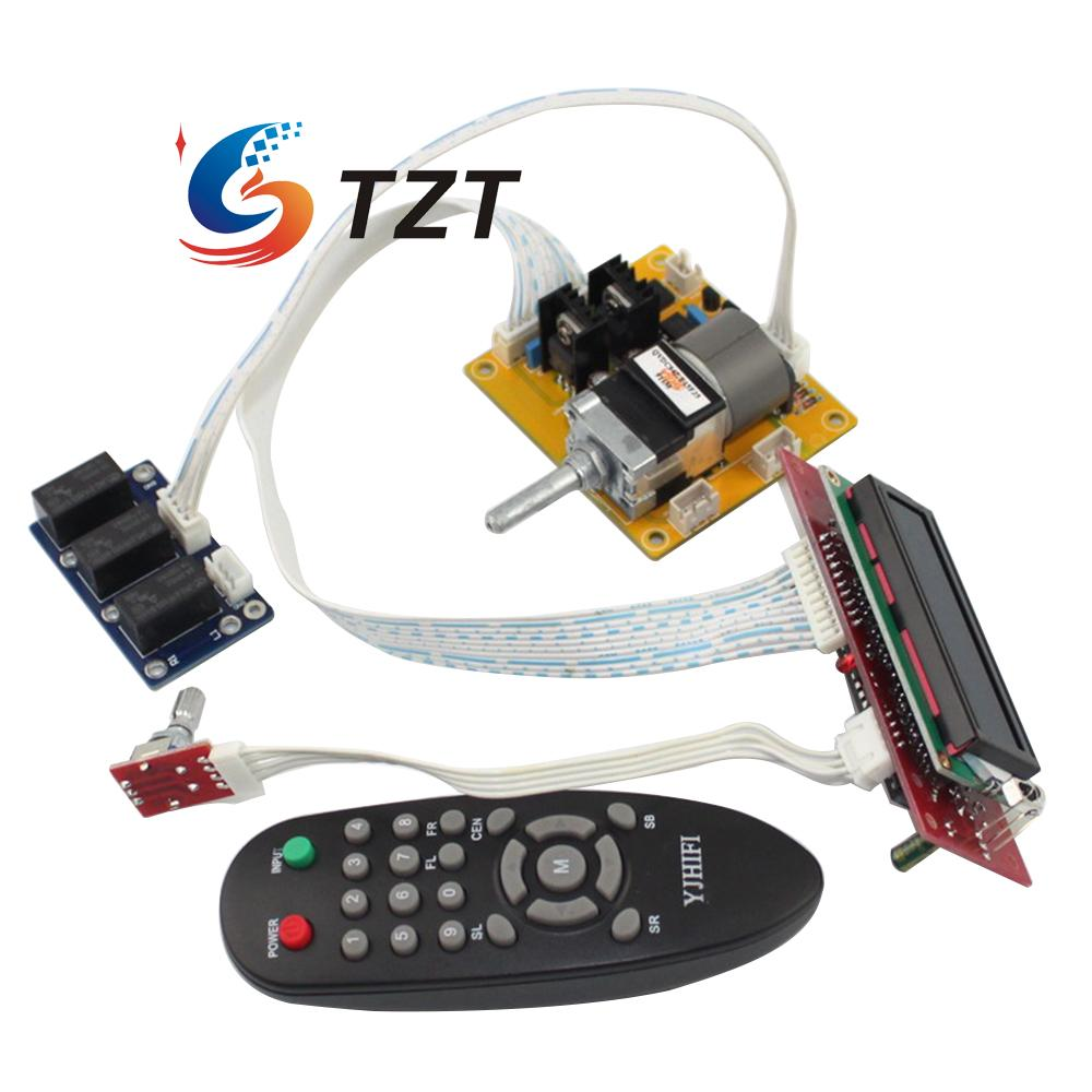 Lcd Volume Dispaly Motor Potentiometer Remote Controller 2