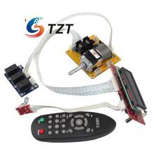 LCD Volume Dispaly Moteur Potentiomètre À Distance Contrôleur 2.0 Canaux Pré-Amp Amplificateur Conseil pour Audio DIY