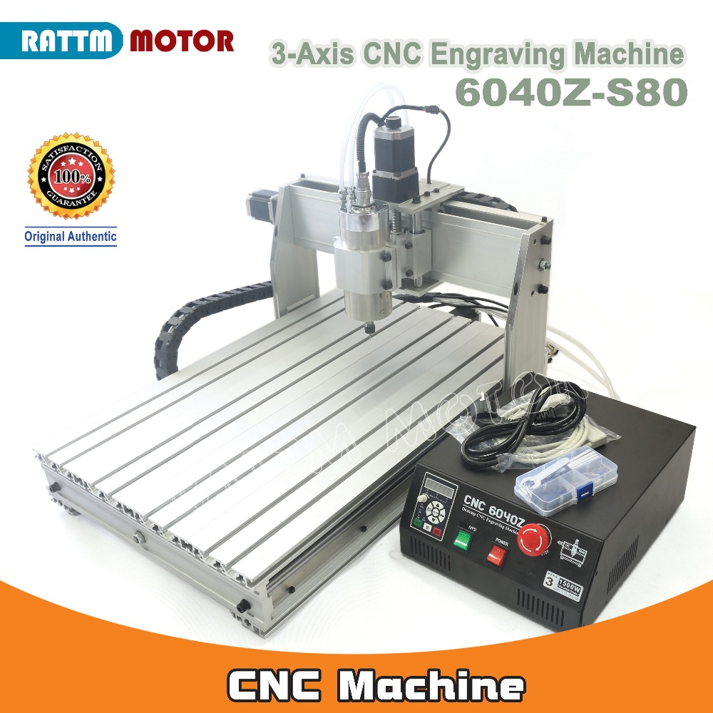 EU/DE Delivery!!! Desktop 3 axis 6040 1500W LPT Port MACH3 CNC Router Engrave/Engraving Drilling and Milling Machine 220VAC 3 axis cnc 4030 engraving machine 1500w water cooled drilling milling lathe with usb interface