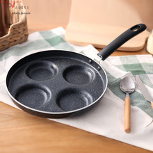 Multifunction diameter 24cm 10inch Nonstick Frying Pan Aluminium Alloy 4 units Cookware Fry Egg Pancake Steak Use for Gas Cooker