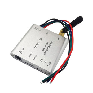 Image 2 - SP301E M/SP301E MS Programmable RF Synchronous Controller for APA102 SK6812 WS2812B WS2811 LED Strip Lights