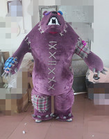 High quality adult Gloomy mascot costume bear costume for Halloween party costumes