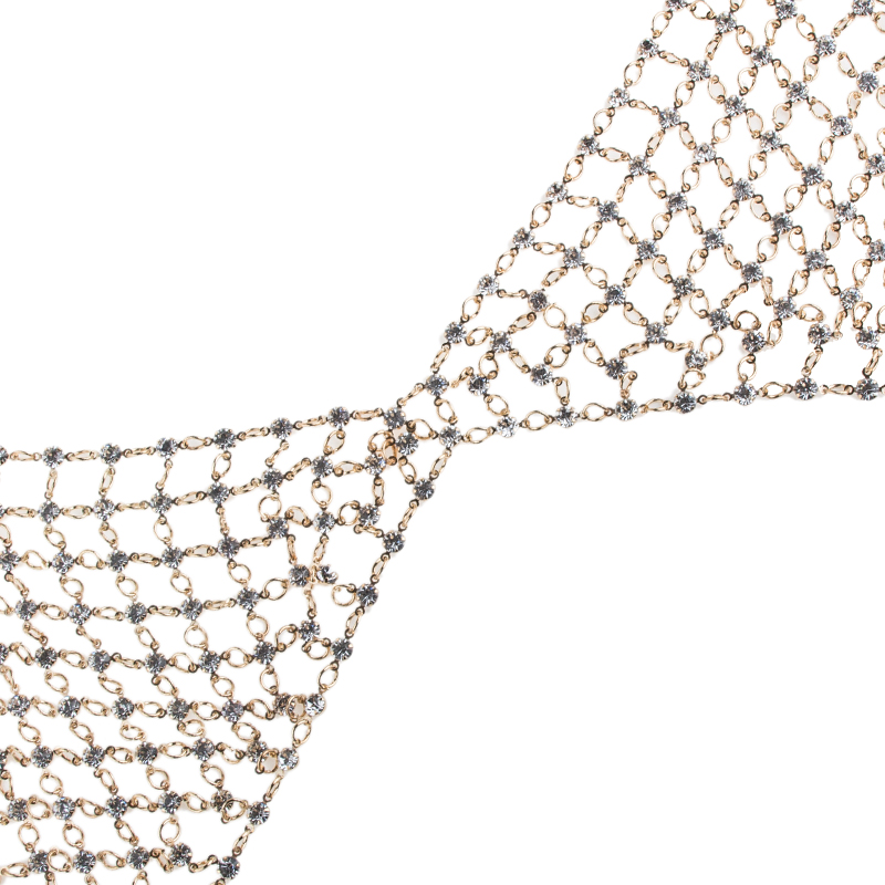 HTB1C2Z3PVXXXXagapXXq6xXFXXXr Sexy Women Rhinestone Bejeweled Bra/Body Chain