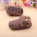Retail suave bebé café Toddlers shoe, niños primeros caminante, de la muchacha de zapatos, tamaño : 11,12, 13 cm, envío gratis