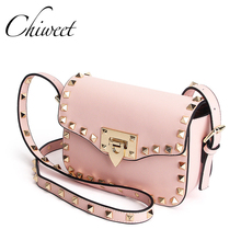 Luxury Shoulder Bag Women Famous Brands Small Messenger Bags For Women Pink Bags Ladies High Quality Genuine Leather Handbags