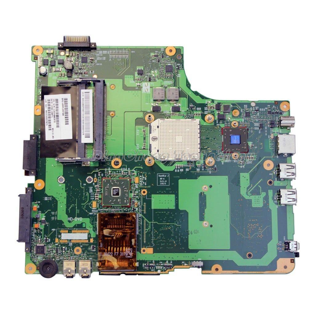 HOLYTIME laptop Motherboard For Toshiba Satellite A210 A215 210D A215 6050A2127101 MB A02 V000108720 integrated graphics card|Laptop Motherboard| |  - title=