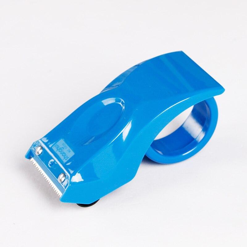 где купить 1pcs Scotch Tape Dispenser Practical Plastic Tape Dispenser Holder ,48mm ,Office School Home Supplies(Random Color) по лучшей цене