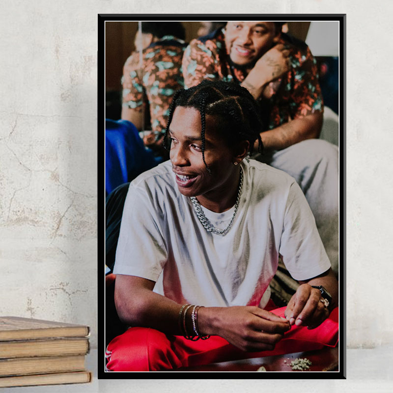 "New Playboi Carti Asap Mob Asap Rocky Rapper Music Star 24x36/"" Poster Art Custom"