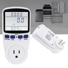 LCD Digital Wattmet Power Meter Socket Energy Monitor Watt Voltage Amps Analyzer font b Electronic b