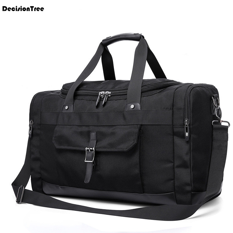 Casual Men Oxford Travel Bags Large Capacity Carry on Luggage