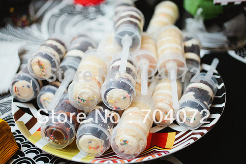 2015 Rushed Transport Tools Cake Tools Wholsesale -  New Push Up Pop Containers 12pcs/lot By China Post Air Mail