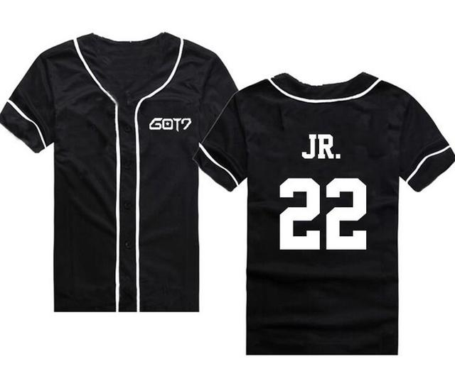 Got7 Baseball T-shirt Fashion 3