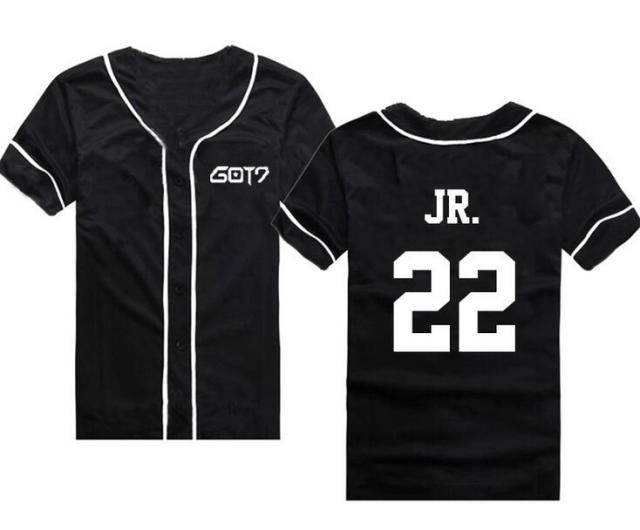 GOT7 Band Member Baseball Jerseys