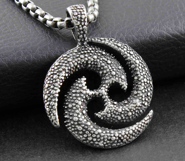 Aliexpress buy necklace pendant triskele celtic sun triskelion necklace pendant triskele celtic sun triskelion sun triskel amulet nordic myth aloadofball Image collections