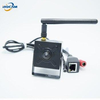 цена на HQCAM mini wifi ip camera Wireless 720P Onvif2.0 HD ip camera wifi P2P Plug Play mini wifi camera Indoor web Network IP Camera