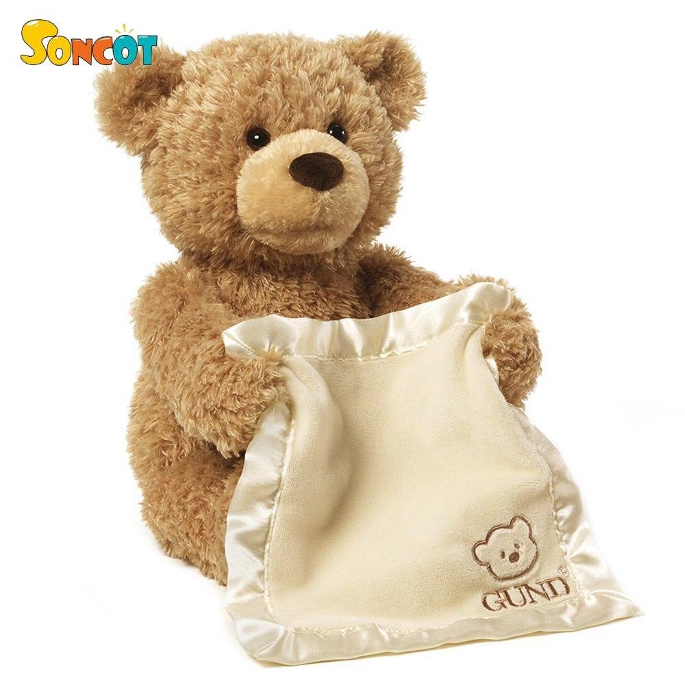 Encantadora 30 cm oso de peluche mejores regalos para los niños Año Nuevo cumpleaños regalo de Navidad