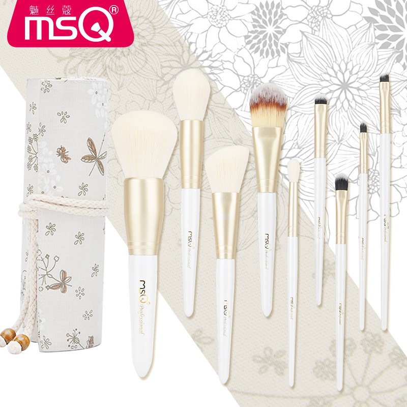 Pro Makeup Brushes Set Powder Foundation Eye Shadow Make Up Brushes High Quality Synthetic Hair Portable Bucket Bag Two Choice sinle 24pcs pro makeup brushes set powder foundation eye shadow make up brushes high quality synthetic hair with pu leather case