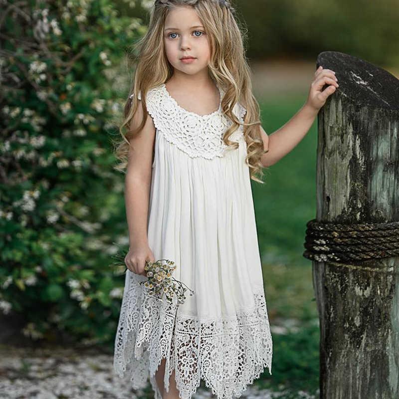 Menoea Meninas Princess Dress 2019 Verão Teste Padrão da Manta Do Bebê do Estilo Da Criança Vestidos de Design Para Crianças Sem Mangas Vestido de Festa