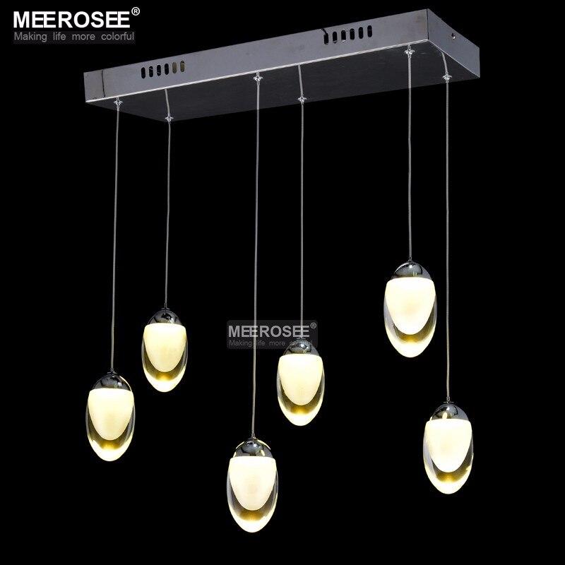 6 light led ceiling light fixture large led lustre lamp. Black Bedroom Furniture Sets. Home Design Ideas