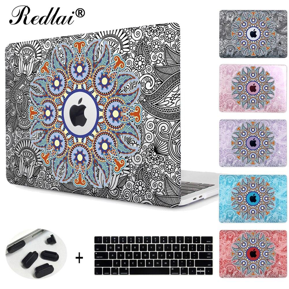 Geometry Mandala Pattern Hard Cover Case For Macbook Pro Retina Air 11 12 13 15
