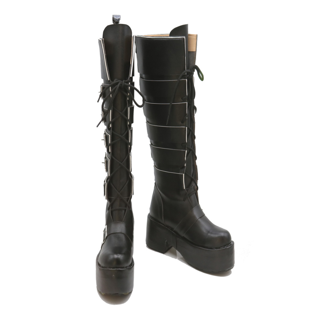 X-Men X-23 Cosplay Shoes High Boots Halloween Carnival Cosplay Costume Accessories For Women