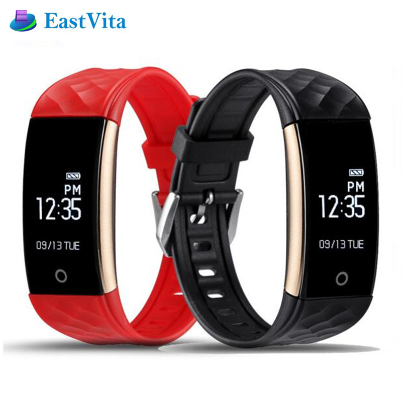 EastVita S2 Bluetooth Smart Bracelet Heart Rate Monitor IP67 Sport Fitness Tracker Wristband For Android IOS