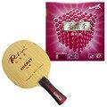 Pro Table Tennis PingPong Combo Racchetta Palio di ENERGIA 03 Lama con 2 Pcs x Reactor Corbor Gomme FL