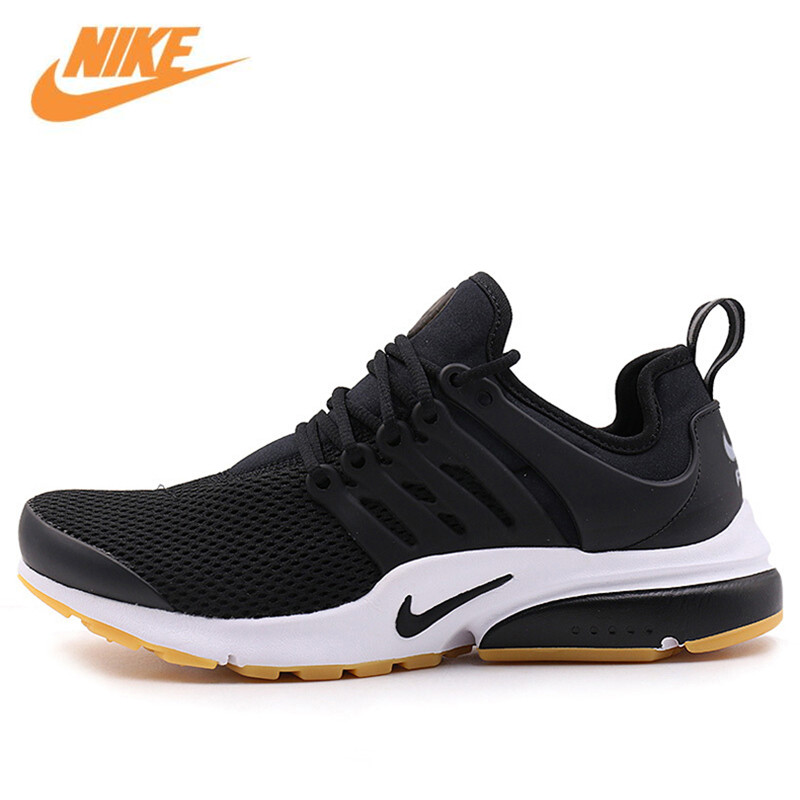 Nike Original New Arrival Official Air Presto Women's Low Top Breathable Running Shoes Sneakers 878068-005 nike original new arrival mens air max tavas breathable low top running shoes sneakers for men