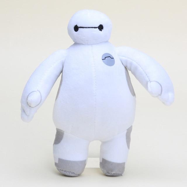 18cm Robô Baymax Grande Herói 6 Filme de Desenhos Animados Baymax Bonecos de Pelúcia Brinquedo macio Brinquedos de Pelúcia Presentes de Natal