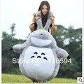Y48 envío libre 40 ''1 M Totoro ultralarge totoro muñeca de peluche de juguete grande regalo de cumpleaños romántico