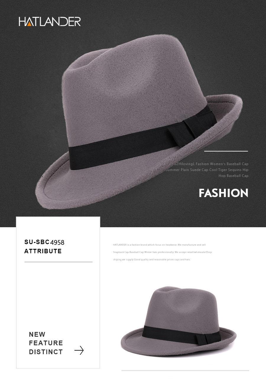 eae35f06ad0 ... Women top hats  Mens hat  Mens trilby cap  Jazz cap  Bowler hat  Wool  fedoras  Church hat. Product Description. 2 ...