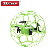 Free Shipping Skytech M70 Mini 2 4G 4CH 3D Eversion RC Drone Toys w Football Shaped
