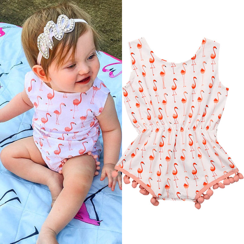 Buy Baby Girl Flamingo Outfit And Get Free Shipping On Aliexpress Com
