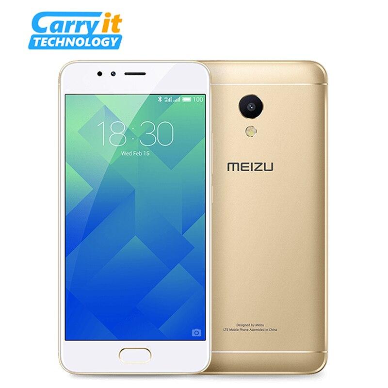 """Цена за Оригинальный Meizu M5s 3 ГБ 16 ГБ Мобильный Телефон Android MTK Окта основные 5.2 """"3000 мАч Сотовой Отпечатков Пальцев Быстро заряда"""