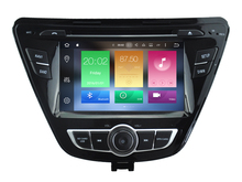 Android 6.0 CAR Audio DVD player FOR HYUNDAI ELANTRA 2014 gps Multimedia head device unit receiver BT WIFI