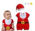 JP-036 Retail christmas baby rompers recém-nascidos das meninas do menino romper roupa infantil roupa do bebê bebe trajes de ano novo para crianças