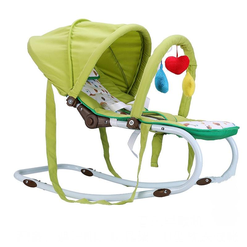 כיסא תינוק נייד, יכול לשבת יכול לשקר תינוקת תינוק רב תכליתיים, צינור פלדה בייבי כסא עם יתוש נטו