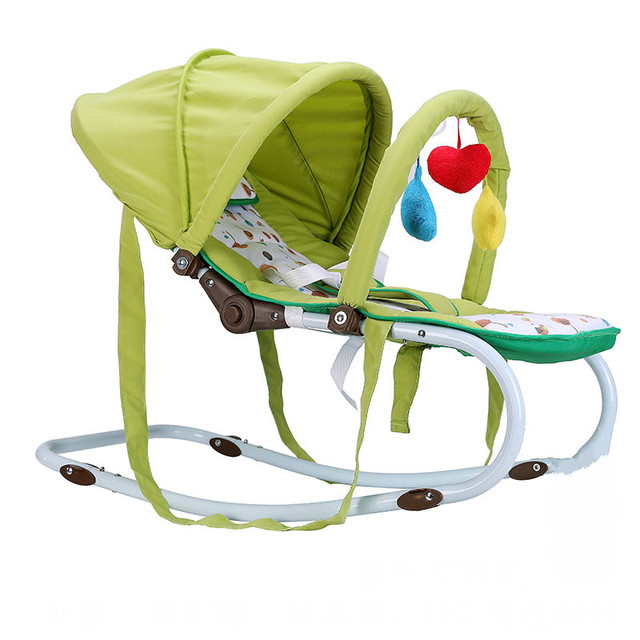 Rocking Chair Cradle Cheap Wedding Covers Portable Baby Can Sit Lie Multifunctional Steel Pipe With Mosquito Net
