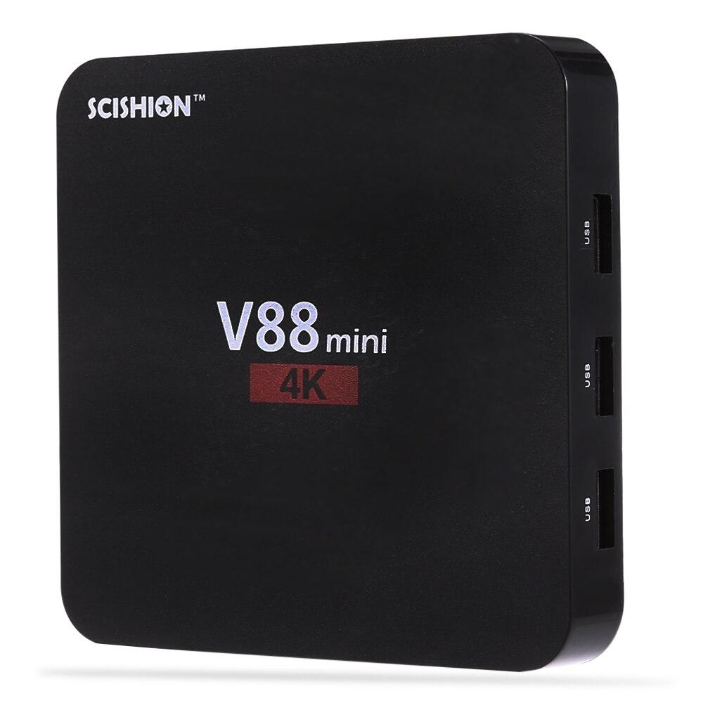 Android 6.0 mini TV Box RK3229 Quad Core 4 1GB + 8GB Multi-language 8723CS WiFi Chip