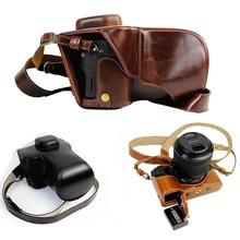 New premium Камера кожаный чехол сумка для Sony ilce-a7ii, a7sii, a7rii Mark II, дно открытым