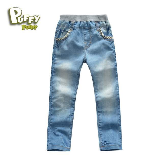 Free shipping 2016 baby boy clothes  spring  autumn children kids boy baby casual jeans pants children  age 6-15Y  PFDS21P09