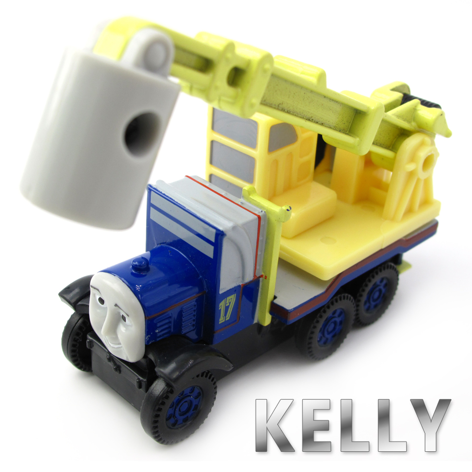 Diecasts Vehicles Thomas T079D KELLY Thomas And Friends Magnetic Tomas Truck Car Locomotive Engine Railway Train Toys for Boys