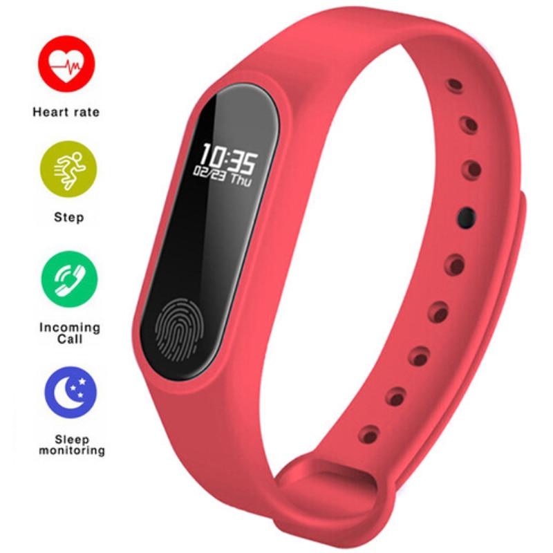 Digital Watch Clock Smart-Bracelet Wrist Waterproof Sport Men Fashion New Male LED Blood-Pressure