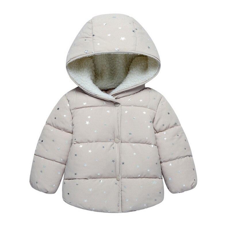 533b4da4f Prendas de Vestir exteriores para niñas ropa de bebé 2019 Otoño Invierno  moda encaje dobladillo niños
