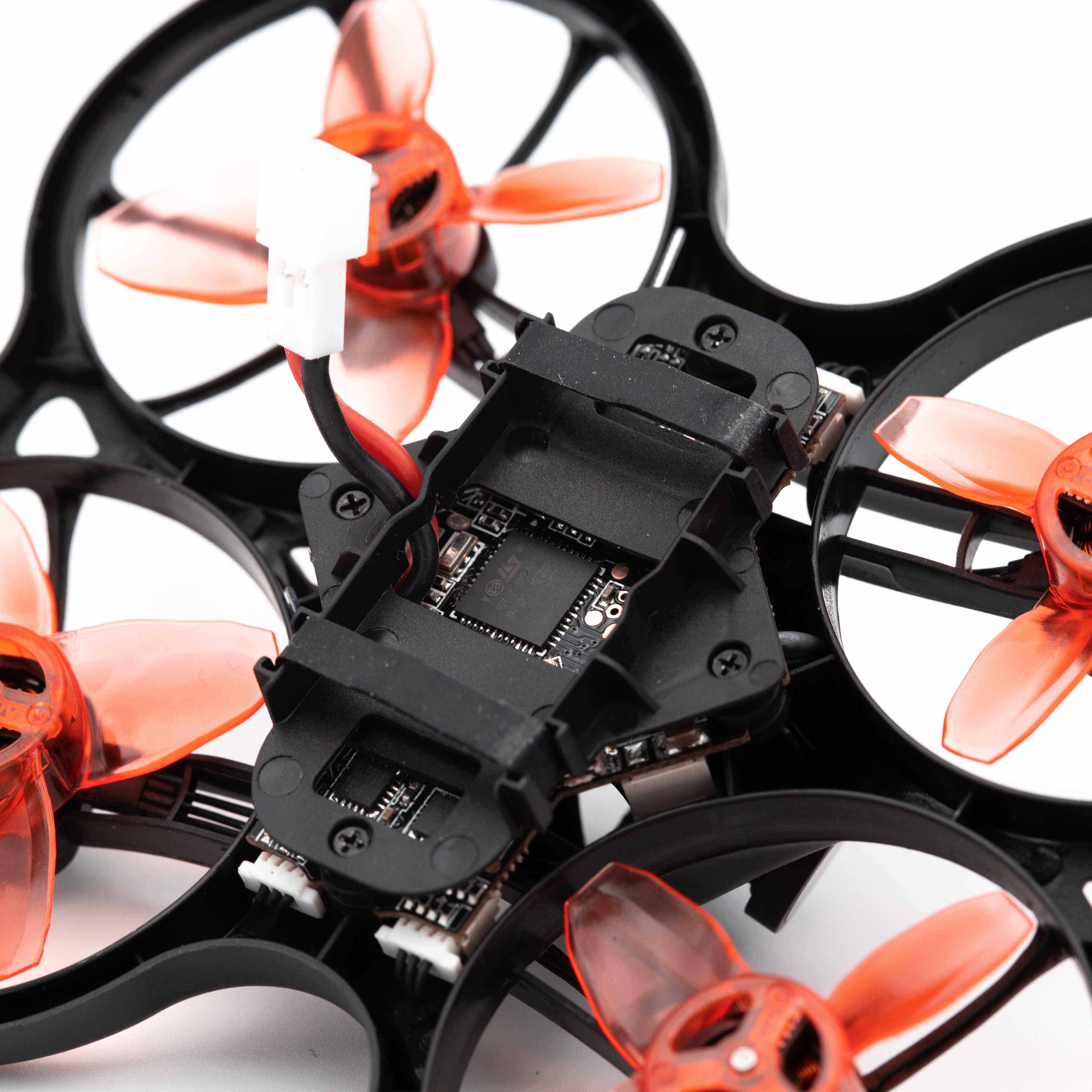 Emax 2S Tinyhawk S Mini FPV Racing Drone z kamerą 0802 15500KV bezszczotkowy silnik wsparcie 1/2S bateria 5.8G FPV okulary zdalnie sterowany samochód