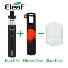 Original Eleaf IJust S Starter Kit 3000mah with Ijust S Silicone Cover Case and Ijusts Tube E Cigarette Vaping Kit Vs Ijust 2
