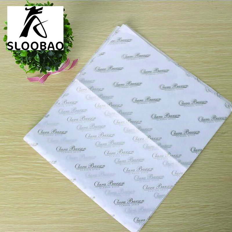 Free shipping Custom brand logo name printed gift garment shoes tissue wrapping paper tissue paper wrapping tissue wrap paper-in Craft Paper from Home & Garden    1