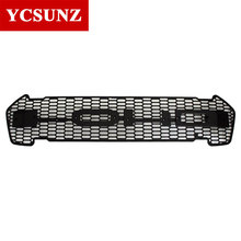 2016 2017 For Ford Ranger Grill 4x4 ABS Black Front Raptor Grill Trim Suitable Ford Ranger