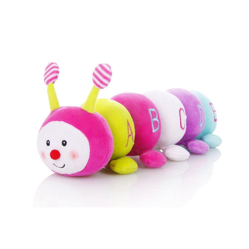 Itty bitty-35*6 cm Pedagogica Montessori Giocattolo Sonaglio Apprendimento Precoce e Regalo di Compleanno per 13-24 mesi Bambini Neonati Bambini
