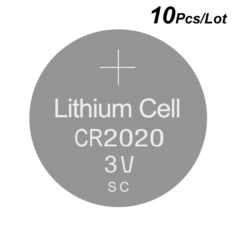 Batteries Have An Inquiring Mind New Arrivals Wholesale Lithium Coin Cell Batteries Cr2020 Fast Shipping Good Quality High Capacity Button Battery Cr 2020 3v Easy To Repair Power Source